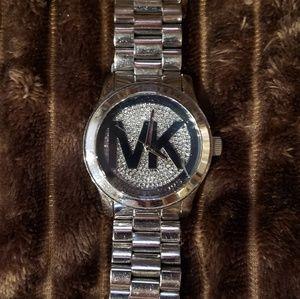 MK boyfriend style watch